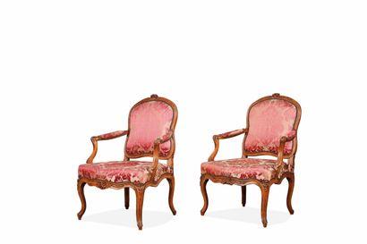 Suite de trois fauteuils