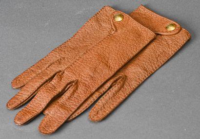 HERMES, Paris  Paire de gants pour homme...