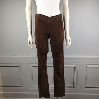 JOSEPH  Pantalon legging en peau écureuil,...
