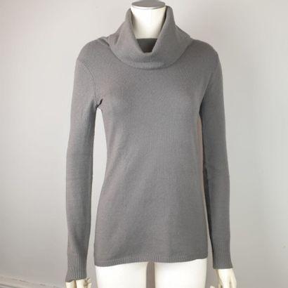BARBARA BUI  Pull en laine et cachemire gris...