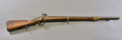 FRANCE  Mousqueton modèle 1842  Monture bois...