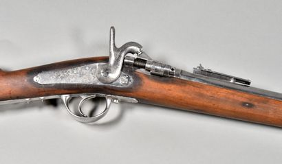 FRANCE  Fusil d'infanterie transformé à tabatière...