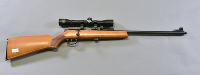 ****FRANCE  Carabine 22 LR  A verrou, monture...