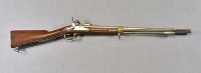 FRANCE  Mousqueton 1822 bis transformé à...