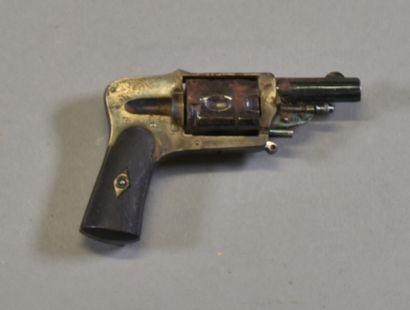 FRANCE  Revovler Bulldog 8mm  Carcasse acier...