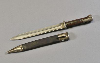 ALLEMAGNE  Baïonnette Mauser modèle 1884...