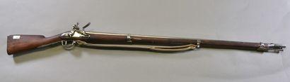 FRANCE  Fusil d'infanterie modèle 1816  Monture...