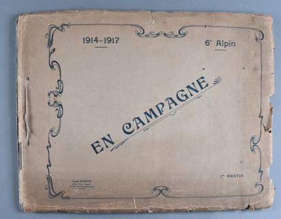 FRANCE  Album photos du 6ème bataillon de...