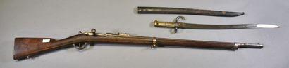 FRANCE  Fusil Chassepot modèle 1866  Monture...