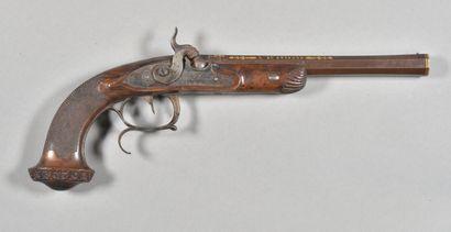 FRANCE  Pistolet à pistons par Jalabert Lamotte...