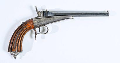 BELGIQUE  Pistolet de tirs de salon  Monture...