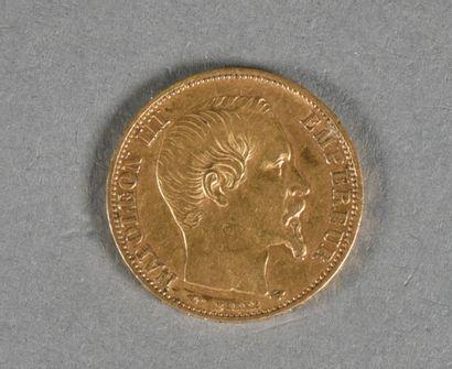 FRANCE  Une pièce de 20 Francs or, Napoléon...