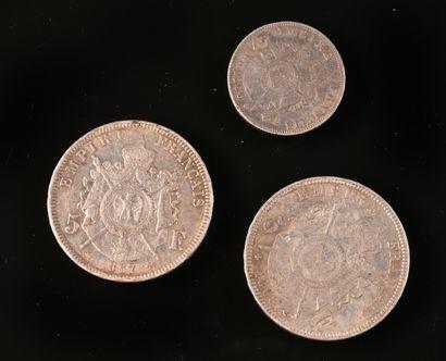 FRANCE  Napoléon III, 5F 1867 A (G739) TTB...