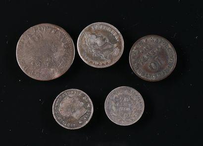 Monnaies divisionnaires.1/2 franc 1809 A...