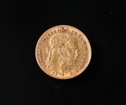 AUTRICHE-HONGRIE  Une pièce de 20 francs/8...