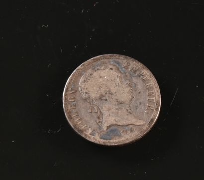 FRANCE  Une pièce de 2 francs en argent,...