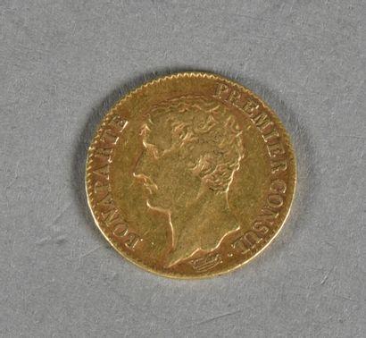 FRANCE  Pièce de 20 francs or, Bonaparte...