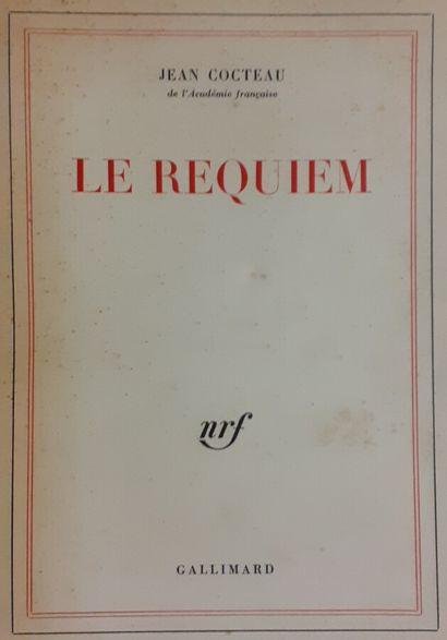 Jean COCTEAU (1889-1963)  Le Requiem, Gallimard,...