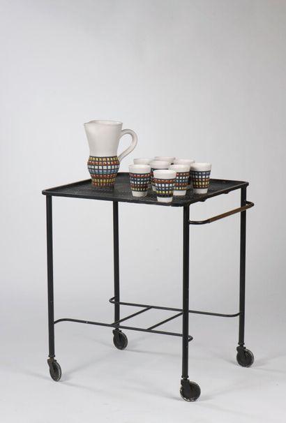 Matthieu MATEGOT (1910-2001)    Table roulante...
