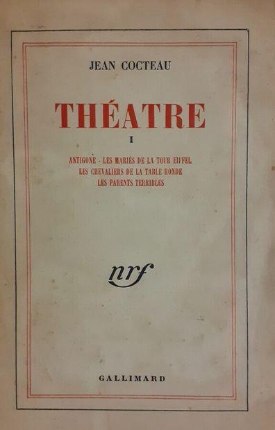 Jean COCTEAU (1889-1963)  Théâtre, Tome I,...
