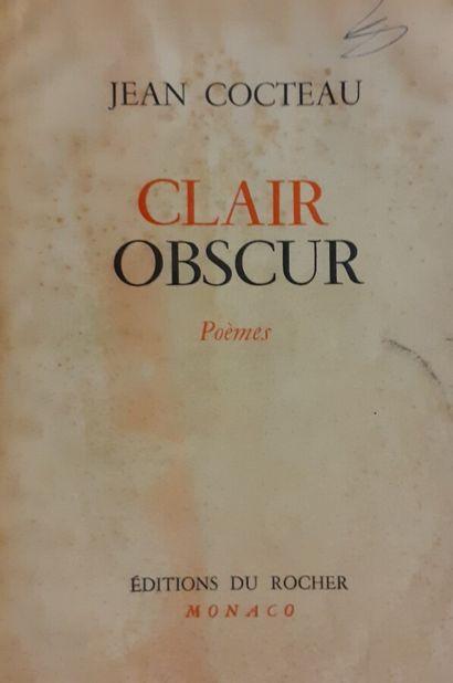 Jean COCTEAU (1889-1963)  Clair Obscur, Monaco,...