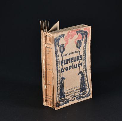 BOISSIERE (Jules). Fumeurs d'Opium, comédiens...