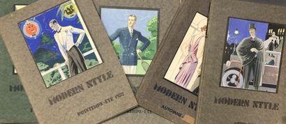 The modern style, cinq albums de tendance,...
