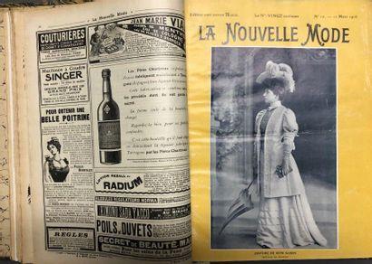 La Nouvelle mode, année 1906, ensemble de...