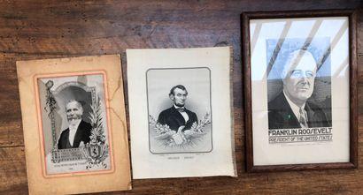 Deux portraits tissés de présidents des Etats...