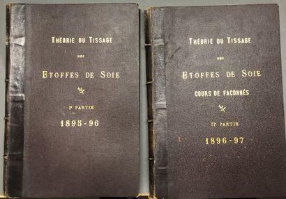 Théorie du tissage des étoffes de soie, 1895-1897,...
