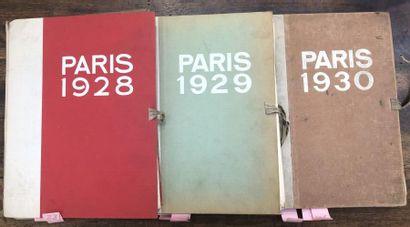 [ORNEMENT]  Paris 1928, Paris 1929, Paris...