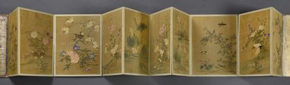 JAPON - Période EDO (1603-1868)  Beau recueil...
