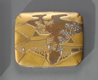 JAPON - Fin de période EDO (1603-1868)  Kobako...