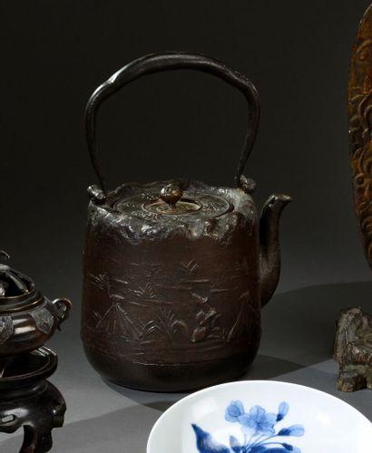 JAPON - Fin de période EDO (1603-1868)  Théière...