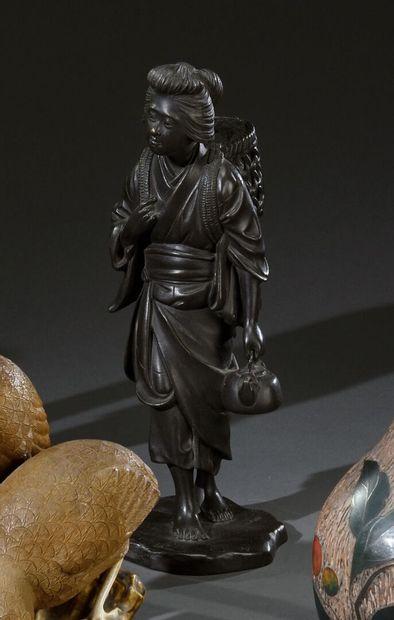 JAPON - Fin de période MEIJI (1868-1912)...