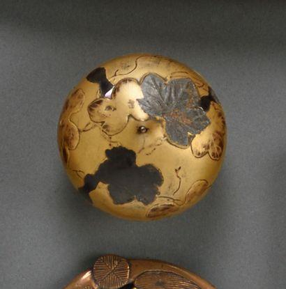 JAPON - Période EDO (1603-1868)  Petite boîte...