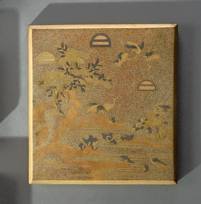 JAPON - Période EDO (1603-1868)  Suzuribako...