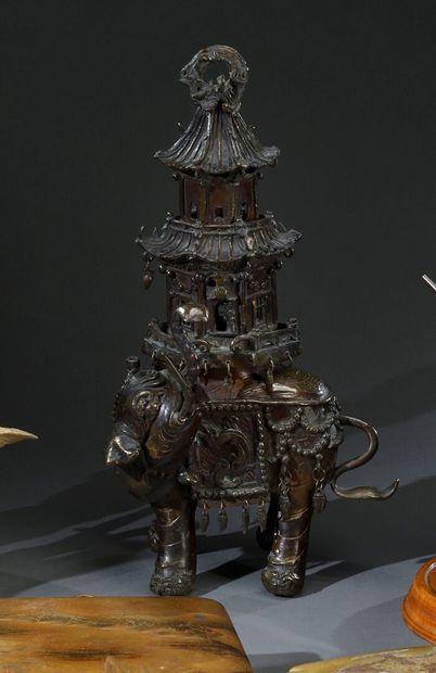 JAPON, Kyoto - Période EDO (1603-1868)  Brûle-parfums...