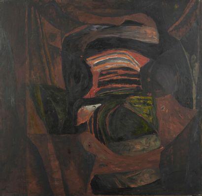 Serge REZVANI (né en 1928)  Repentir I A,...