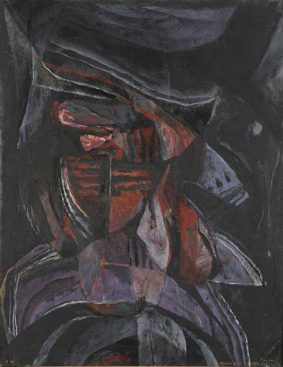 Serge REZVANI (né en 1928)  Repentir III...