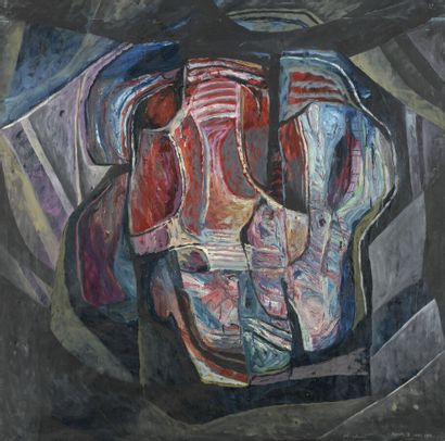 Serge REZVANI (né en 1928)  Repentir V A,...