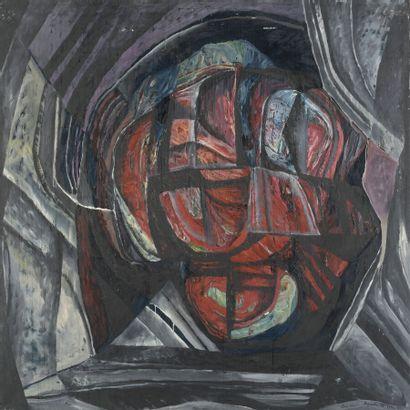 Serge REZVANI (né en 1928)  Repentir XV A,...