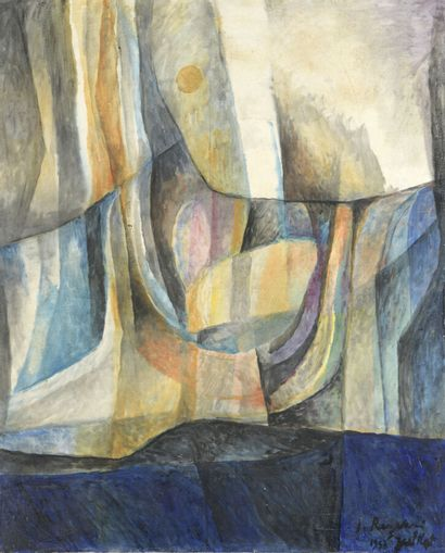 Serge REZVANI (né en 1928)  Sans titre, 1953...