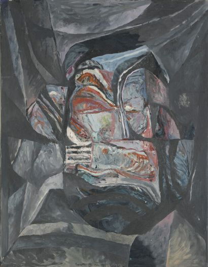 Serge REZVANI (né en 1928)  Repentir VIII...