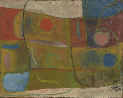 Serge REZVANI (né en 1928)  Faklenbound,...