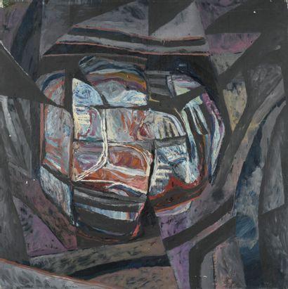 Serge REVANI (né en 1928)  Repentir X A,...