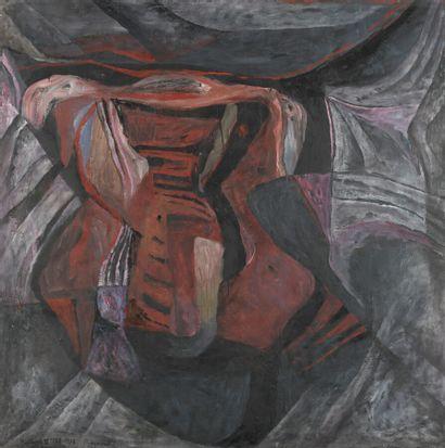 Serge REZVANI (né en 1928)  Repentir II A,...