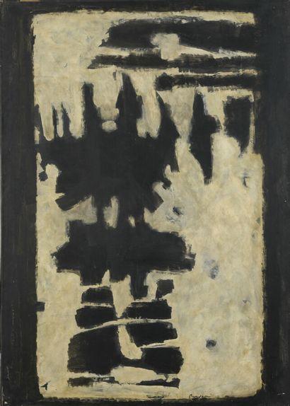 Serge REZVANI (né en 1928)  Blanche III,...