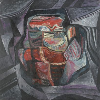 Serge REZVANI (né en 1928)  Repentir XI A,...