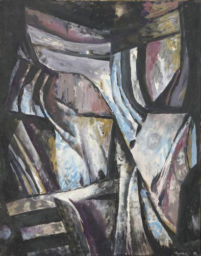 Serge REZVANI (né en 1928)  Phénix VI, 1992...